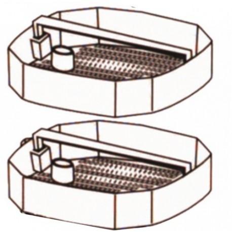 ND: sada plastových košíků pro Atman CF-800, AT-3336, 3 ks
