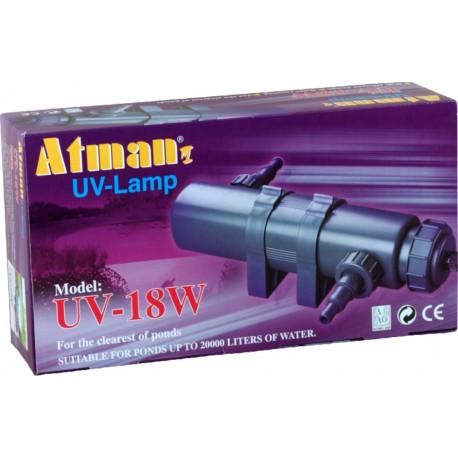 Atman UV-18 W, UV lampa