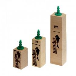 Sander difuzor dřevěný 2 - 54 mm