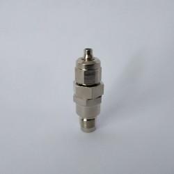 """Konektor 1/8"""" na hadičku se zpětným ventilem"""