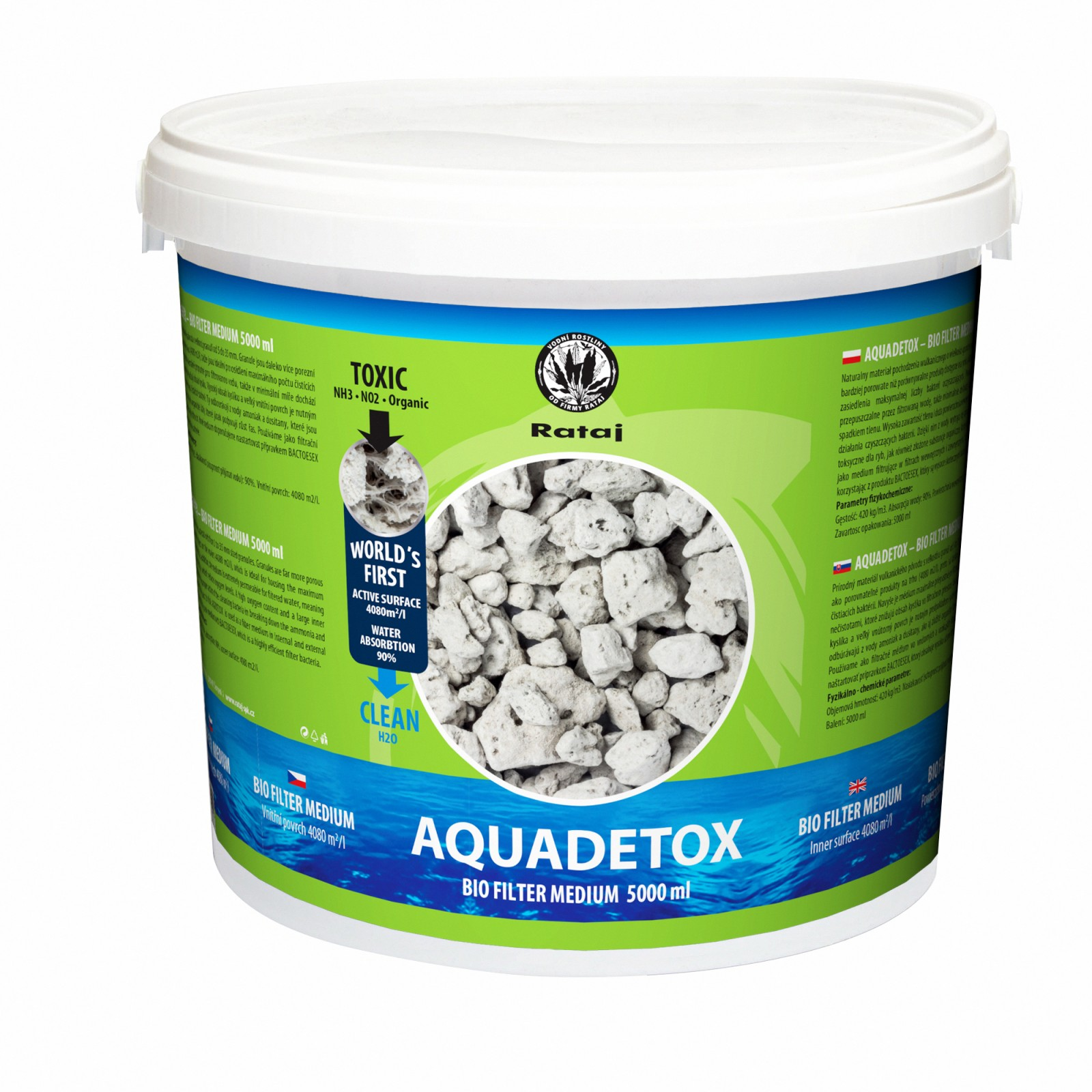 Aquadetox, Balení 5000 ml
