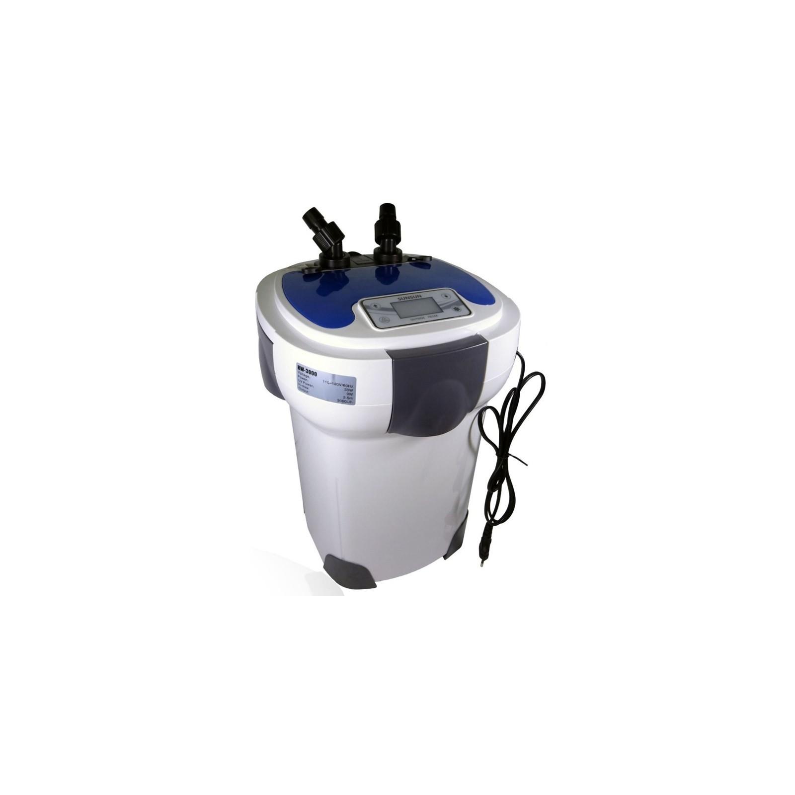 SUNSUN vnější filtr HW-3000 LCD + UV lampa