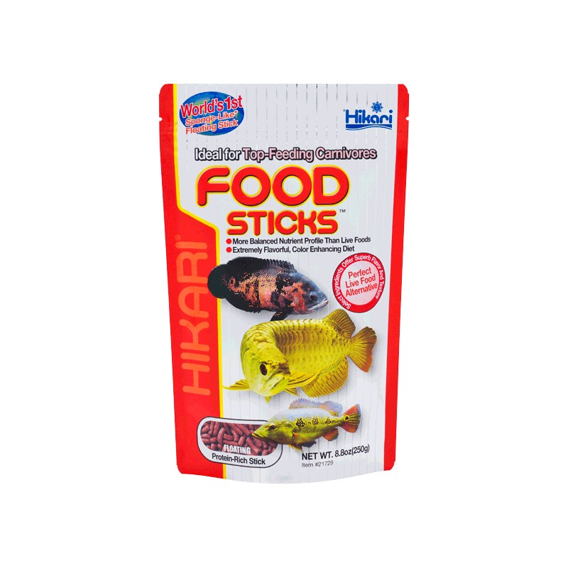 HIKARI TROPICAL FOOD STICKS, Balení 250g