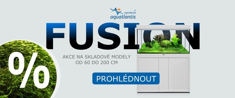 akce na akvária Aquatlantis Fusion